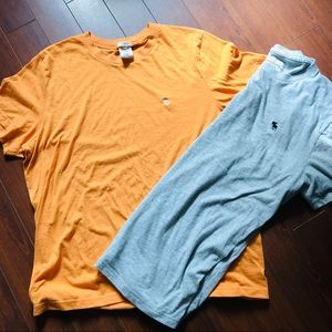 Abercrombie & Fitch muscle fit tee bundle XXL
